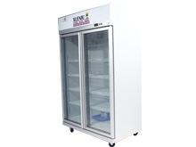 商超二门风冷冷冻柜